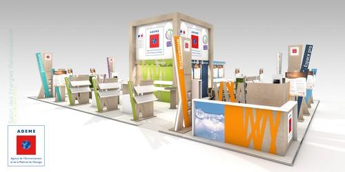 Création d'un stand sur mesure éco-conçu ADEME ENR