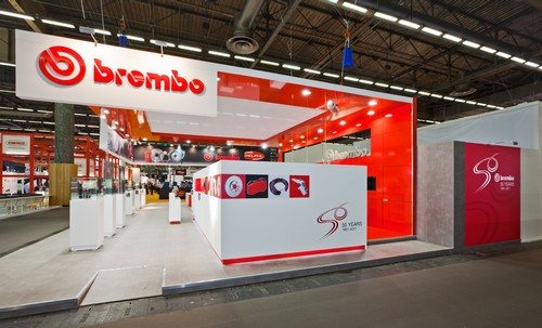 Creation de stand BREMBO
