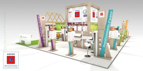Fabricant de stand Eco-Conception sur le Salon Energies Renouvelables
