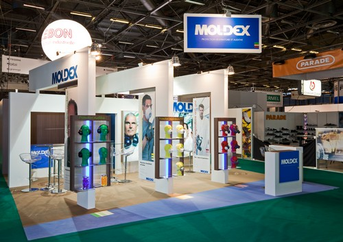 Stand cle en main EXPO PROTECTION MOLDEX