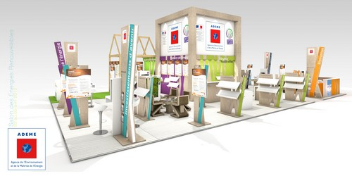 Stand traditionnel développement durable ADEME
