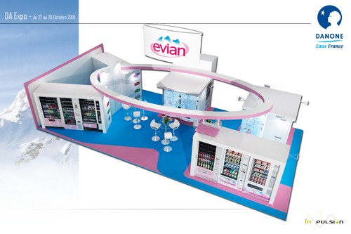 Stand salon DA VENDING