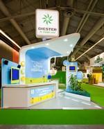 Agencement de stand personnalisé salon de l'agriculture