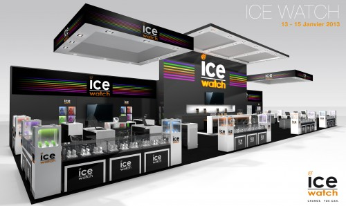 Décoration de stand ICE WATCH PRINTOR