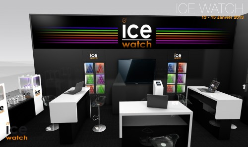 Conception de stand sur mesure ICE WATCH