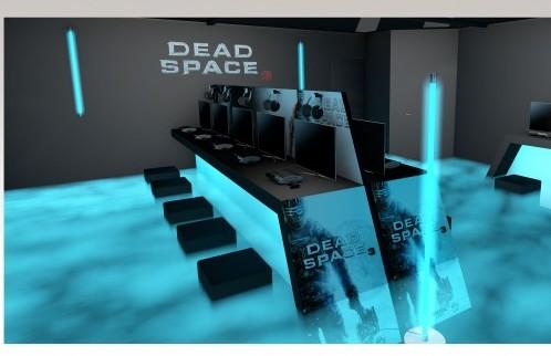Espace produit et ambiance sur un stand sur mesure Salon des Jeux Vidéos