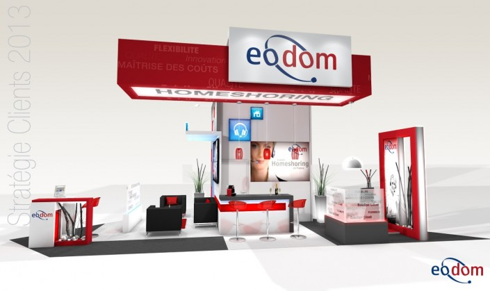 Stand personnalis eodom in 39 pulsion for Concepteur de stand