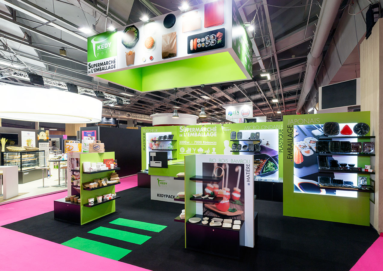 Stand salon sandwich et snack kedy pack in 39 pulsion for Salon sandwich and snack show