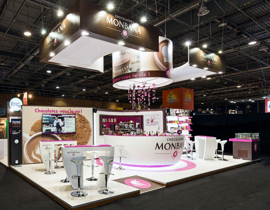 Agencement am nagement de stands de salon in 39 pulsion for Stand salon