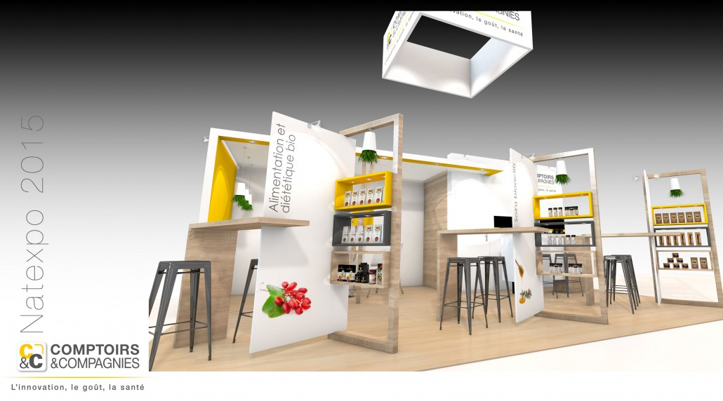 Comptoirs Compagnie Stand Natexpo Inpulsion