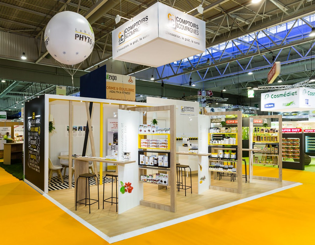 Comptoirs compagnie stand natexpo in 39 pulsion - La compagnie des comptoirs ...