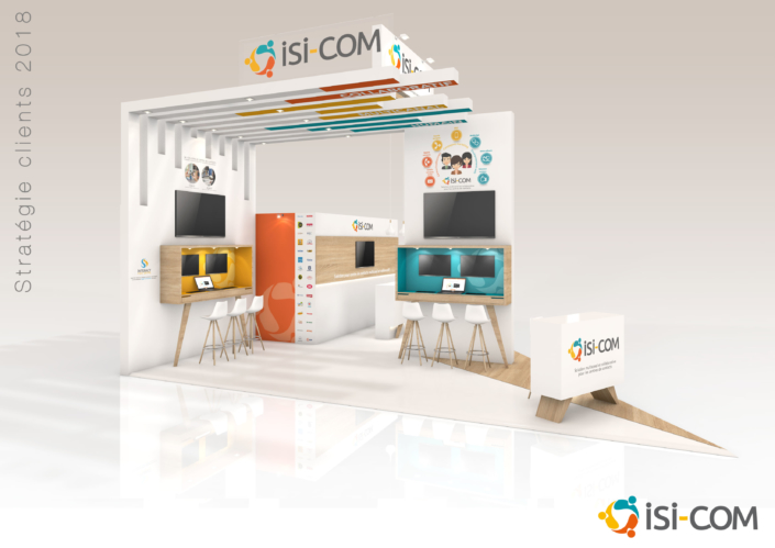 Conception par In'pulsion en 2018 pour ISI-COM