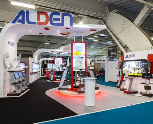 design du stand ALDEN PAR IN'PULSION