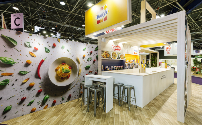 stand Barilla par In'pulsion