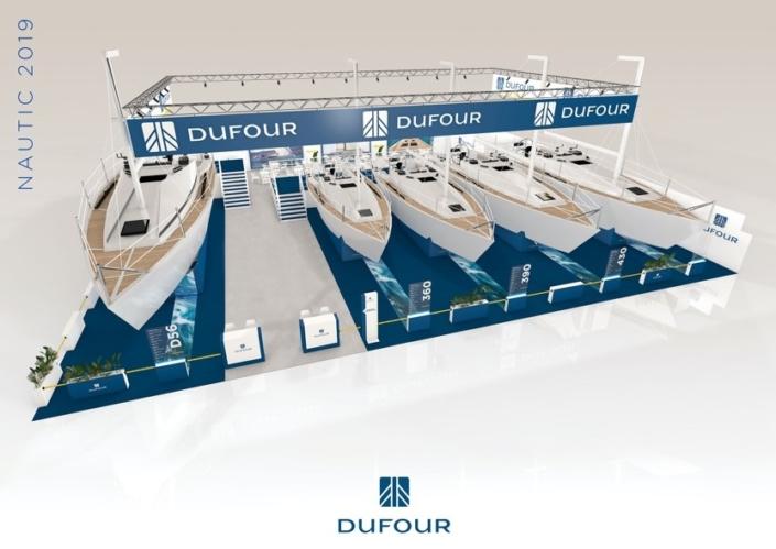 Standiste salons nautiques européens
