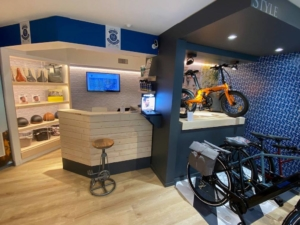 In'Pulsion, spécialiste agencement de boutique, Cycles Hors Cadre dans les Yvelines